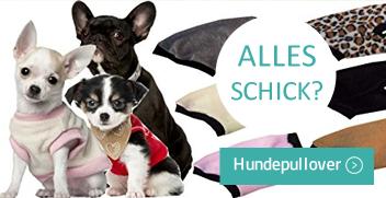 Hundepullover, Hundeweste online kaufen auf Hundemantel-mode.de